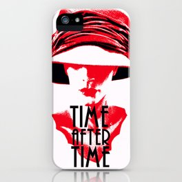 Time After Time Rouge iPhone Case