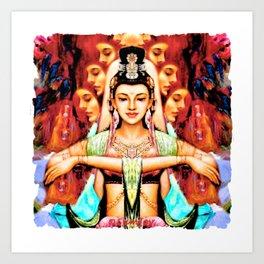 Goddess (2) Art Print