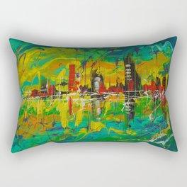 The city of Mirage Rectangular Pillow