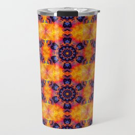 Windmill Mandala Travel Mug