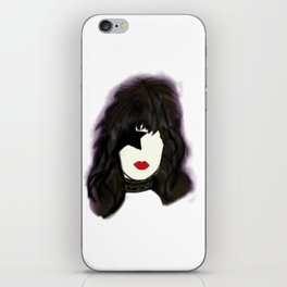 Kiss Paul Rock Icon Silhouette iPhone Skin