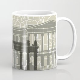 St Petersburg skyline poster Coffee Mug