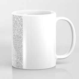1000 imaginary friends and one bear Coffee Mug