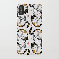 sriracha iPhone & iPod Cases featuring Sriracha the cat by Bach