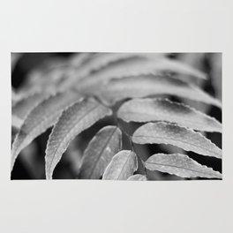 Deep In - leaves & fern Rug