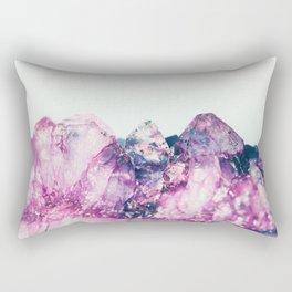Amethyst Cluster Rectangular Pillow