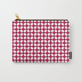 Mod Nautical Geometric Carry-All Pouch