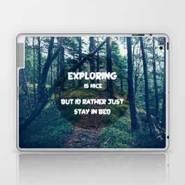 Stay in bed Laptop & iPad Skin