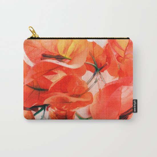 Sunny Bougainville. Carry-All Pouch
