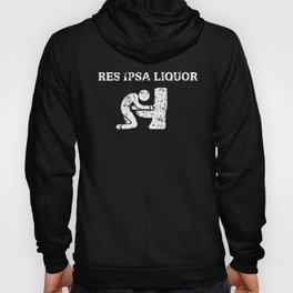 Funny Bar Exam Drinking graphic Law School Graduation design Hoody