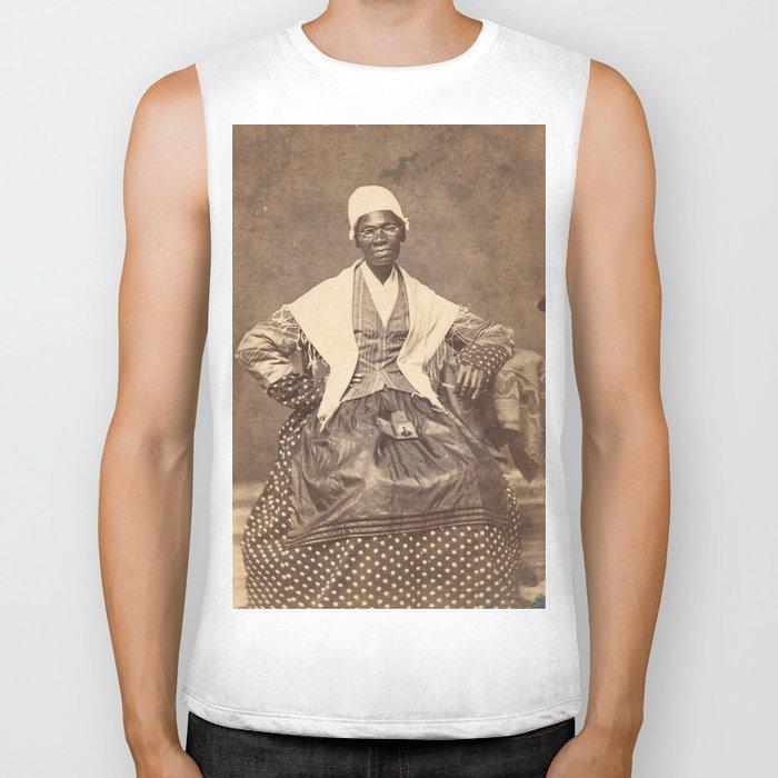 Sojourner Truth Vintage Photo, 1863 Biker Tank