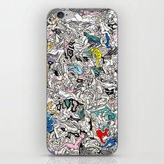 Kamasutra LOVE Doodle Closeup Color Valentine iPhone & iPod Skin