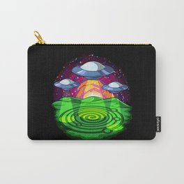Alien Abduction Crop Circles Carry-All Pouch