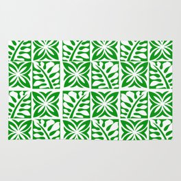 Green Christmas Rug