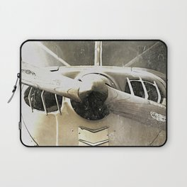 Antique Airplane Propeller Laptop Sleeve