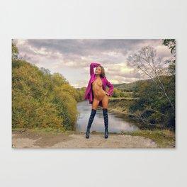Pink IV Canvas Print