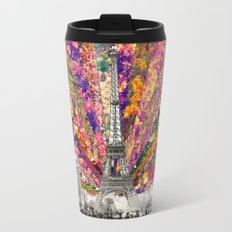 Vintage Paris Travel Mug
