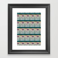 Pelican Pattern (a) Framed Art Print
