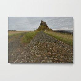 Lindisfarne Castle Metal Print