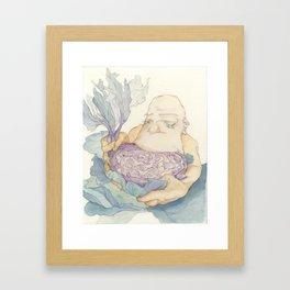 Cabbage Saviour Framed Art Print