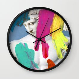 Composition 706 Wall Clock