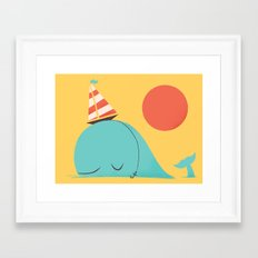 Party Hat Framed Art Print
