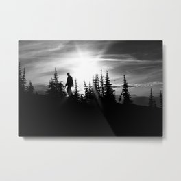 Mountain Man Metal Print
