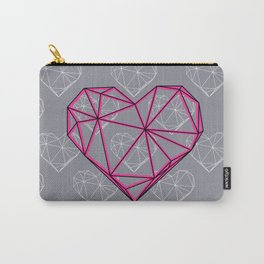 Caged Heart Carry-All Pouch