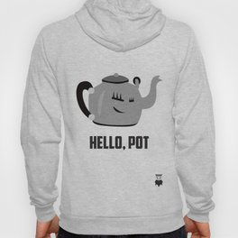 Hello, Pot - Couple's Shirt Hoody