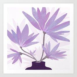 Lilac Blooms / Botanical Art Print