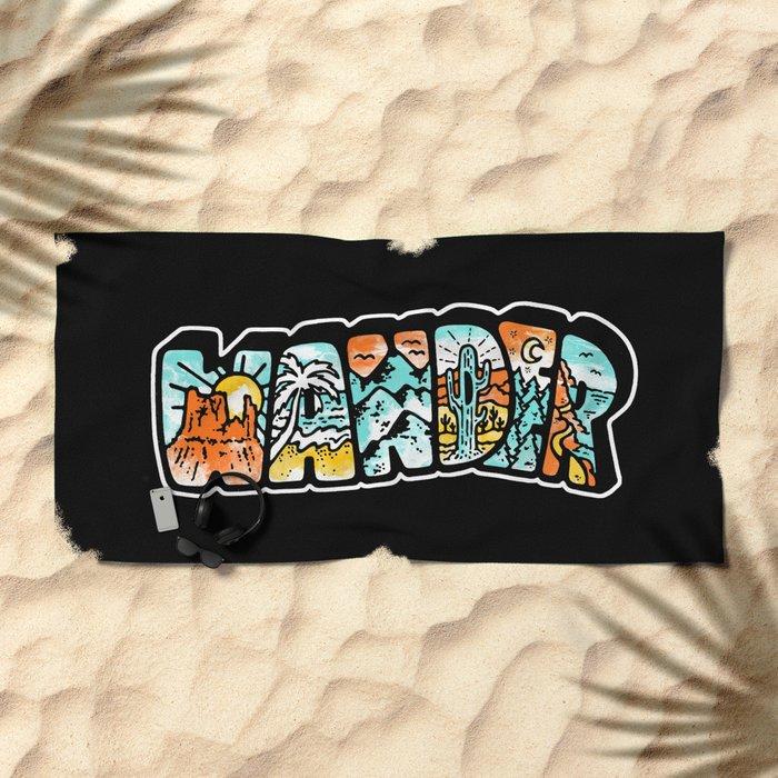 WANDER Beach Towel