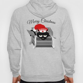 Naughty Cat Merry Christmas Hoody