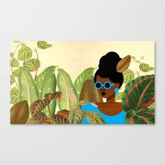 Bayou Girl III Canvas Print