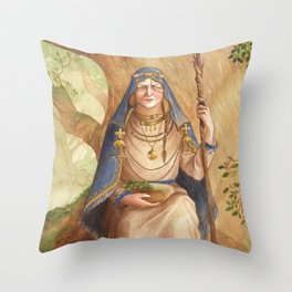 Ruta ~ A Compendium Of Witches Throw Pillow