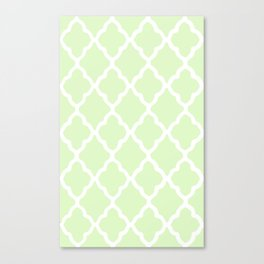 White Rombs #10 The Best Wallpaper Canvas Print