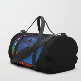 Crescent Moon Chakra - Nightscape Duffle Bag