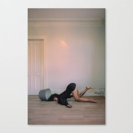 Floor Lamp Canvas Print