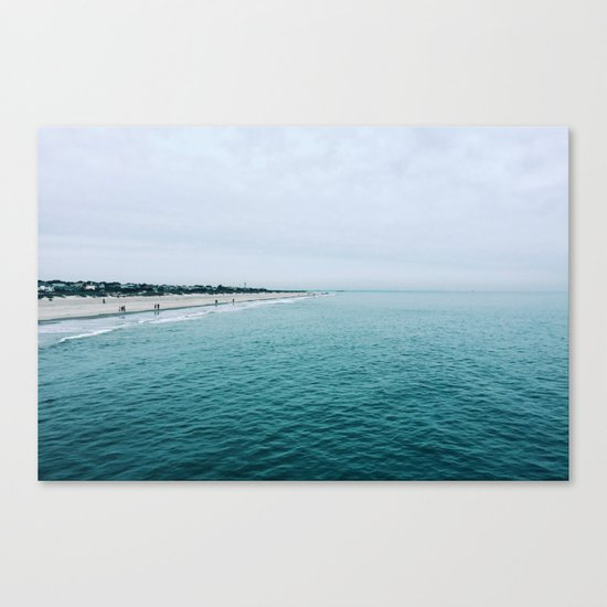 The Endless Sea 2 Canvas Print