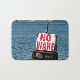 No Wake Bath Mat