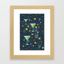 Martini Party Framed Art Print