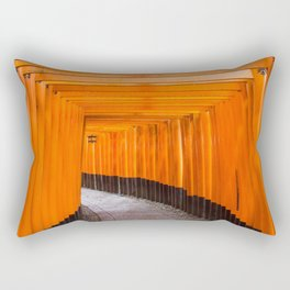 Fushimi Inari Walkway Rectangular Pillow
