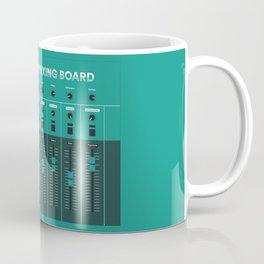 The Literary Mixing Board Coffee Mug