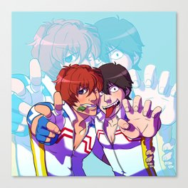 yowapeda Shinkai & Arakita Canvas Print