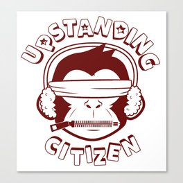 Upstanding Citizen Canvas Print