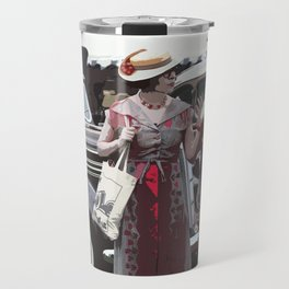 At The Races, 1937 Style Travel Mug