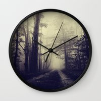 neverland Wall Clocks featuring Neverland Revisited by Olivia Joy StClaire