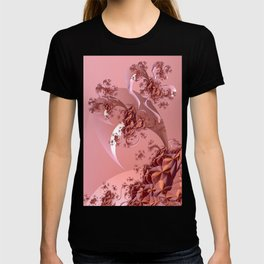Romantic Mood with Abstract Rose Tree T-shirt