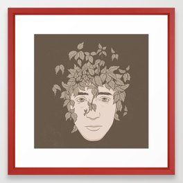 NATURE PORTRAITS 09 SIMPLIFIED Framed Art Print