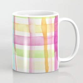 Rainbow Mesh Watercolor Coffee Mug