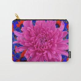 ROSE Lilac Spider Mum FLOWER Blue-orange GARDEN Carry-All Pouch